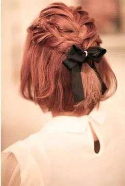【ボブハーフアップ】結婚式お呼ばれヘア♡自分で簡単にできちゃうアレンジ多数! で紹介している画像