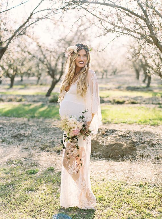 妊婦でもドレスに拘った結婚式に♡マタニティドレスの選び方♡ で紹介している画像