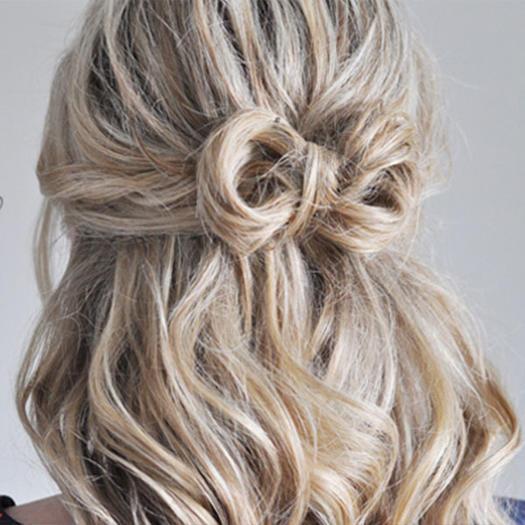 ミディアム〜ロングさんに特におすすめの髪型♡結婚式のお呼ばれヘアスタイル〜ハーフアップ編〜 で紹介している画像
