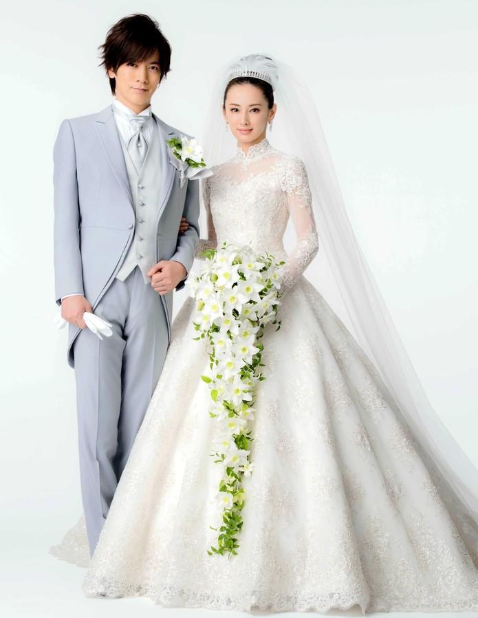 <北川景子さんも着用>指輪だけじゃない。大切な一日はハリー・ウィンストンのダイヤモンドジュエリーを身にまとって。 で紹介している画像