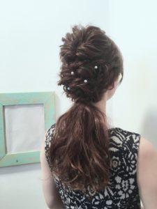 ショート・ミディアム・ロングまで♡自分でできちゃう簡単お呼ばれヘアアレンジ♡ で紹介している画像