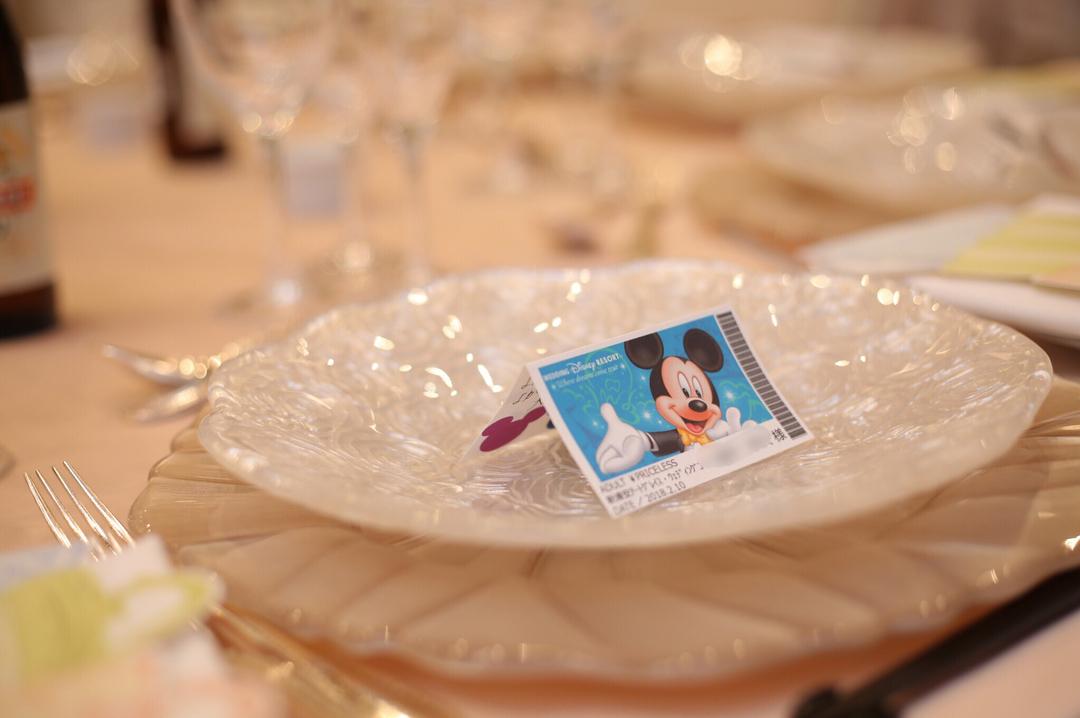 アンオフィシャルだからこそ楽しめる!先輩花嫁のディズニー風結婚式アイディア で紹介している画像