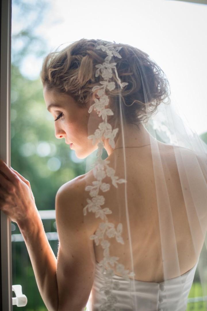 【マリアベール】洗練された女性らしい印象に♡神秘的でロマンティックなベール で紹介している画像