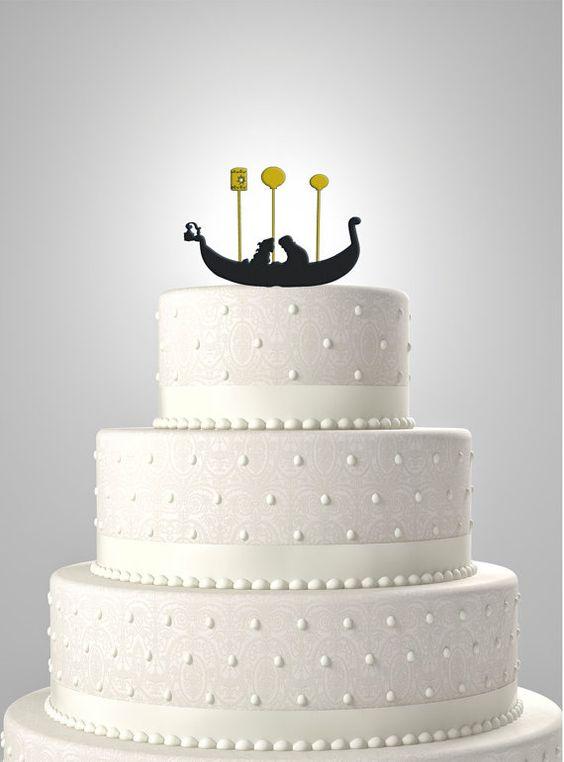 世界中から集めました♡ラプンツェルをテーマにしたウェディングケーキ で紹介している画像