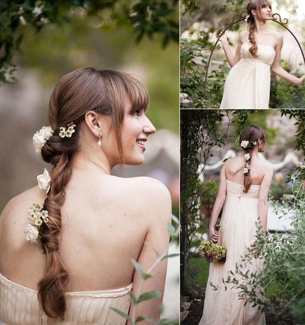 目指すはラプンツェル☆ロングヘアの花嫁さん向けのオシャレな髪型アレンジ で紹介している画像