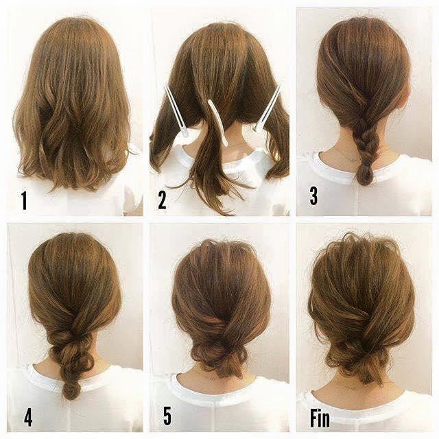 不器用さん専用簡単パーティーヘア♡結婚式の髪型【お呼ばれアップ】編 で紹介している画像