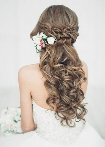 結婚式の前撮りに♡厳選!花嫁さまの髪型〜ミディアム・ロング