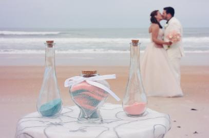 結婚式の演出にぴったり!サンドセレモニーでオリジナルウェディングを☆ で紹介している画像