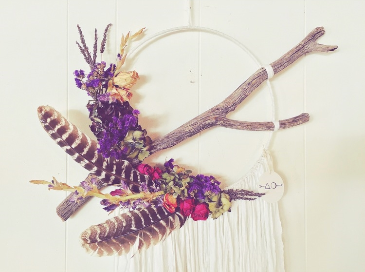 ボヘミアン・ウェディングにピッタリ♡ドリーム・キャッチャーを使った結婚式のアイディア で紹介している画像