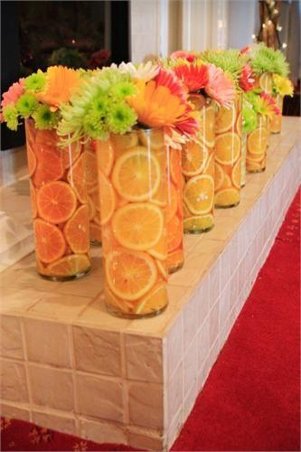 テーブル装飾にお花なし?ユニークなデコレーションで印象的なパーティを☆ で紹介している画像