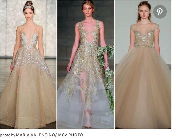 NYブライダルウィークにて発表、2018秋冬ウェディングドレスのトレンド紹介! で紹介している画像