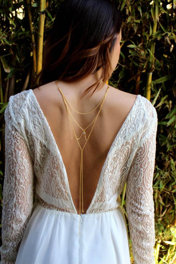2016年夏の最旬トレンド♡バックワード・ネックレスで魅せる背中に で紹介している画像