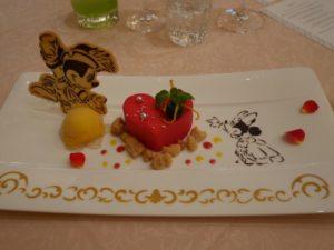ミッキーモチーフがかわいい♡ミラコスタでの結婚式のお料理を紹介 で紹介している画像