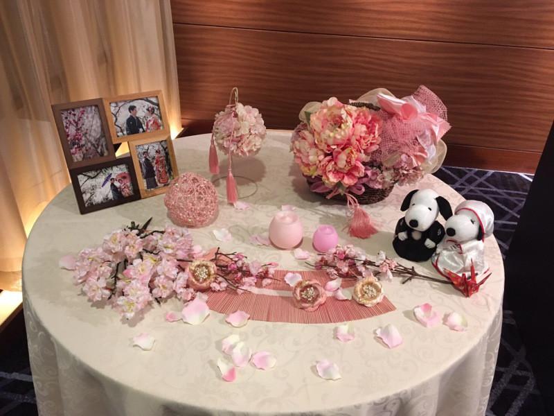 結婚式 ウェルカムスペース 和装
