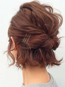 ショートヘアだってアレンジできる♡お呼ばれヘアスタイル28選♡ で紹介している画像